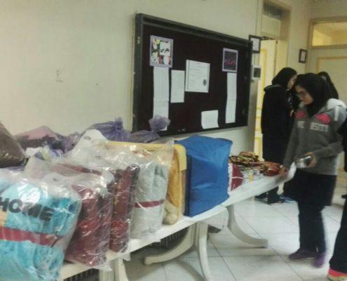 همدردی دانش آموزان سلام فرمانیه با هموطنان زلزله زده 2
