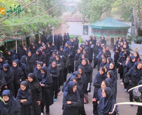 آغاز سال تحصیلی - دبیرستان سلام فرمانیه